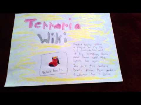 Terraria wiki - Rocket Boots