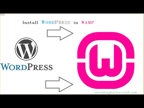 how to Install Wordpress on WAMP Server
