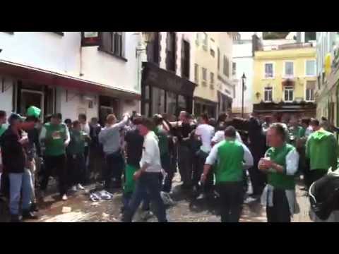 Guernsey FC barmy army!