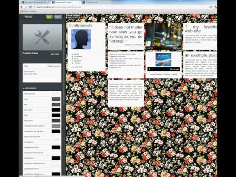 How to install a Tumblr Theme