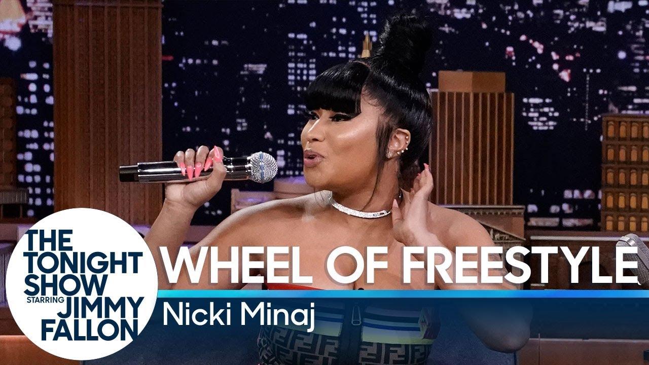 Wheel of Freestyle with Nicki Minaj