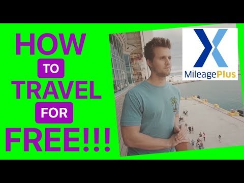 HOW TO TRAVEL FOR FREE IN 2018 | CREDIT CARD HACKING UNITED MILEAGE PLUS X APP