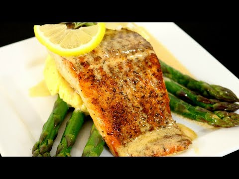 IMPRESS YOUR DATE! | Blackened Salmon & White Wine Sauce | EASY RECIPE | MOORE APPROVED