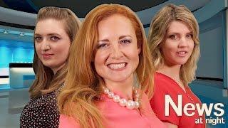 The News At Night | TingleCom Ft Accidentally Graceful & Sweet Irish Whispers | ASMR Collab