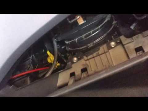 Hyundai Eon cabin filter for Aircon removal