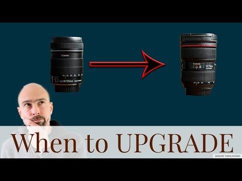 When to Upgrade Camera, Lens, Gear