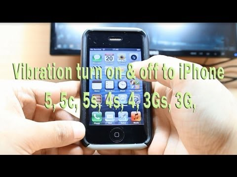 Vibration turn on & off to iPhone, 5, 4s, 3G