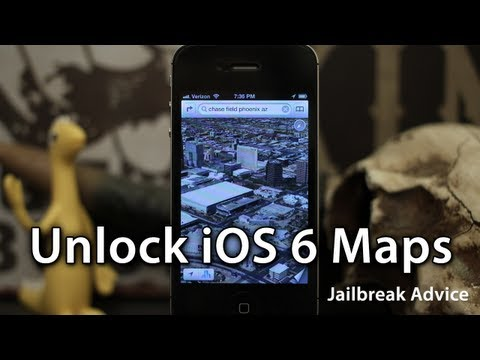 [Jailbreak Advice] Get 3D Maps On iPhone 4 / iPod Touch In iOS 6 & Turn-By-Turn