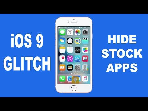 iOS 9 Glitch - Hide Apps on your Home Screen