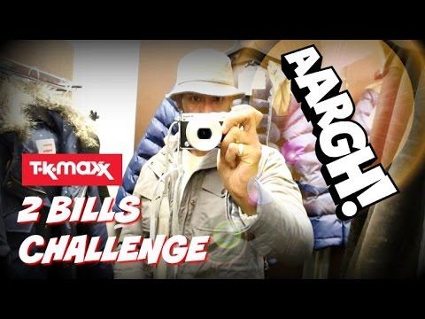 Buying Full Designer Wardrobe from TKMaxx | 2 BILLS CHALLENGE