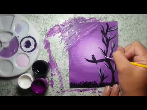 How to Paint with Poster Colors.