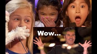 "#1 All 9 ""BEST + AMAZING = INCREDIBLE?"" Golden Buzzers! 