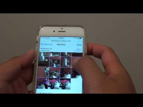 iPhone 6: How to Create New Photo Album