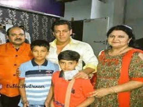 सलमान खान से मिले डांसिंग अंकल संजीव श्रीवास्तव / dabbu uncle with with salman khan