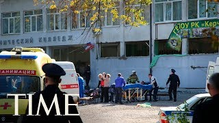 Russian Officials: A Student Gunman Killed 17 & Injured 40 At A Vocational College In Crimea | TIME