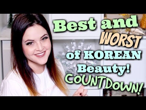 Best and Worst of Korean Beauty 2017 COUNTDOWN! | What the ***K?