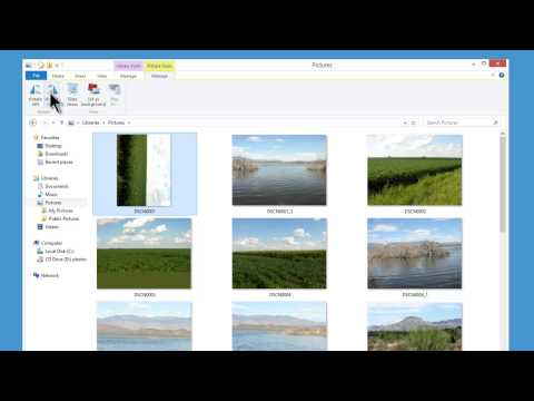 Windows 8 Pro Tutorial 21 - Pictures And Photo Gallery - Pic Editing Free Download Link