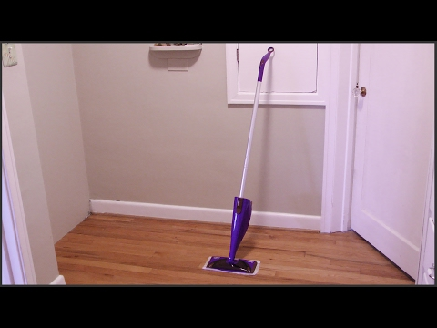 Assembling And Using A Swiffer WetJet