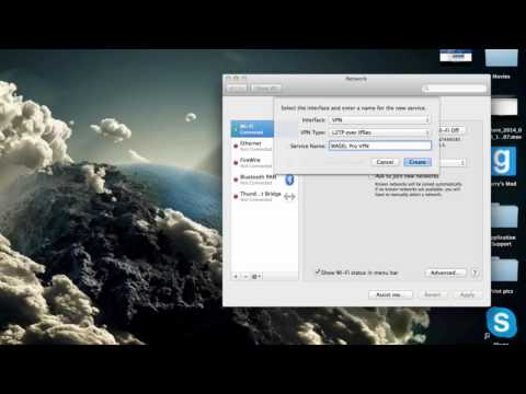 How to hide ip address on Mac without programs-L2TP VPN