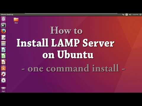 How to Install LAMP Server on Ubuntu