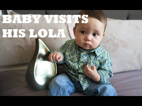BABY VISTS HIS LOLA