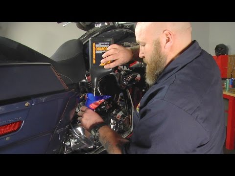 How to  Change Transmission Lube on Harley-Davidson Touring Models by J&P Cycles