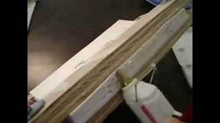 Book Binding Hot Glue Technique
