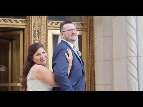 Wes + Rebecca's Wedding Film at Sky Loft in Tulsa, OK