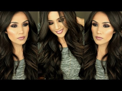 Easy Bouncy Glamorous Curls I Hair Tutorial