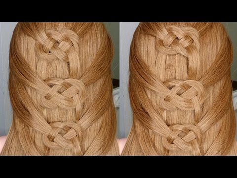 Easiest Way to do a Celtic Braid
