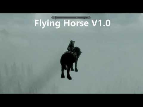 Skyrim Flying Horse