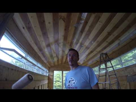 5 - The easy way to finish a T&G Pine Ceiling with polyurethane