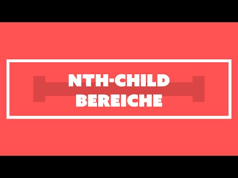 Bereiche mit nth-child selektieren