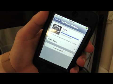How to Install iOS 5.1