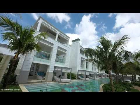 Walking Tour of lobby, restaurants, pool and beach at Azul Sensatori Jamaica