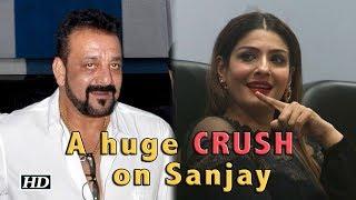 A huge CRUSH on Sanjay Dutt: Raveena Tandon