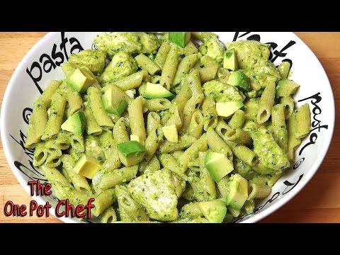 Creamy Chicken Pesto Pasta | One Pot Chef