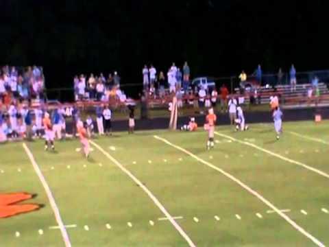 Gary Richardson #12 Clayton Comets Football: Junior Highlights 2010