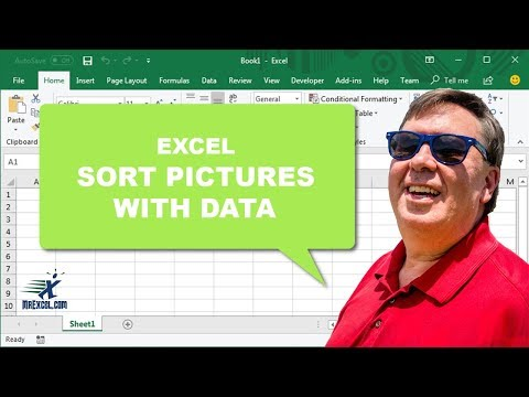 MrExcel's Learn Excel #940 - Sort Pictures with Data