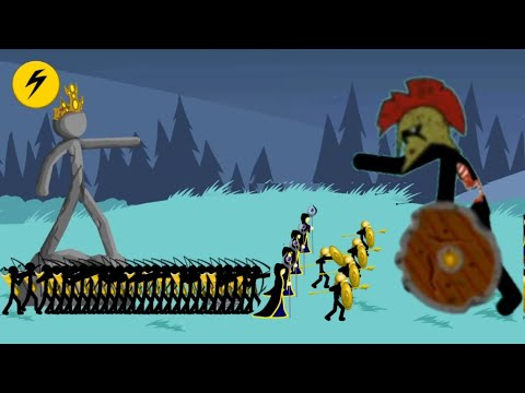 Speartons Archidons and Merics vs ZOMBIES | ENDLESS DEADS | Stick War Legacy