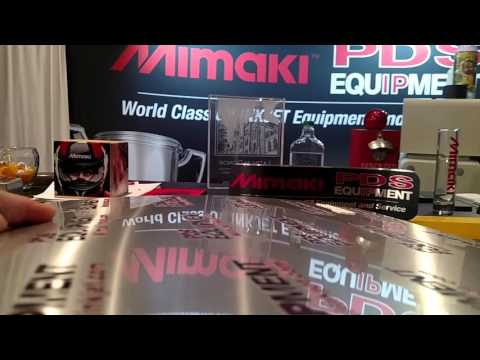 Mimaki ujf 7151 clear and raised print.  Amazing quality.
