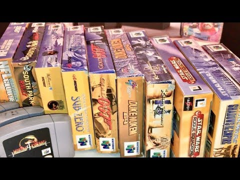 COMPLETE N64 COLLECTION! FREE GAMES? FELT LIKE IT! Recent Game Pick Ups #7