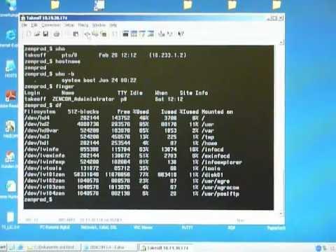 IBM AIX 4 shell commands