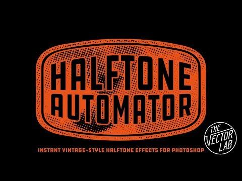 Halftone Automator for Photoshop