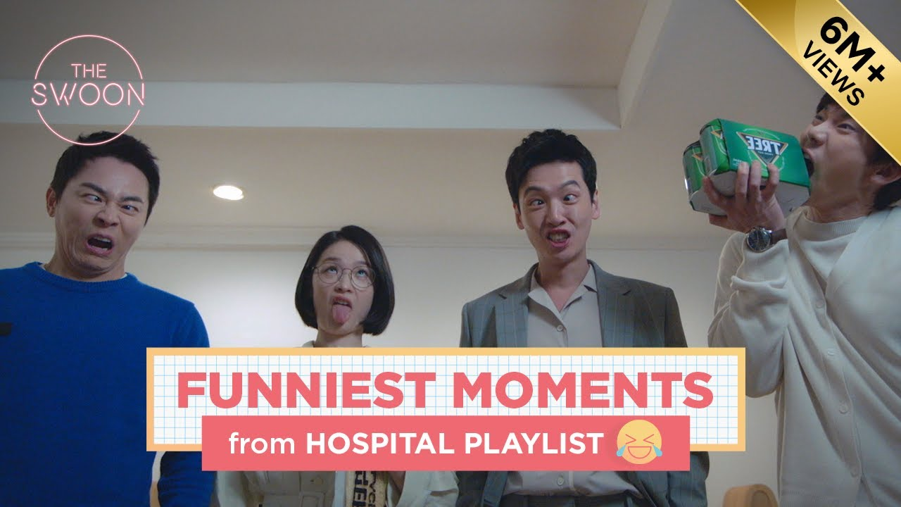 Funniest moments of Hospital Playlist [ENG SUB]