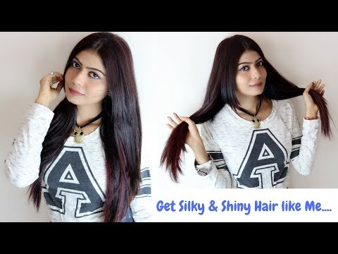 How to get Silky & Shiny Hair | Rinkal Soni