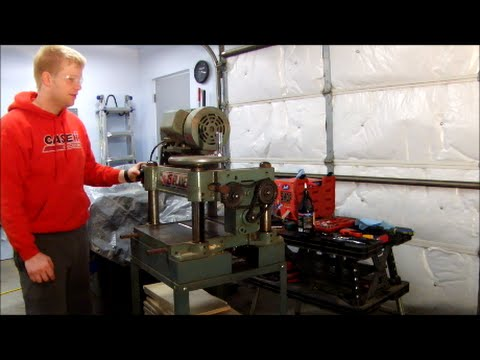How to Rebuild Shop Tools - 15in Planer