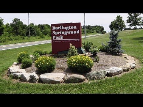Lap of the Walking Path at Springwood Park - Burlington, NC