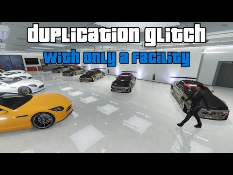 GTA Online - Money Glitch: Fast Duplication with Only a Facility (Solo)