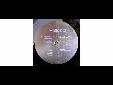 Lion Warriah / Hairl Dub / Madplate Sound - We Are Rebels - 12